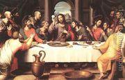 The Last Supper (2) 1560s  by Juan De (Vicente) Juanes (Masip)