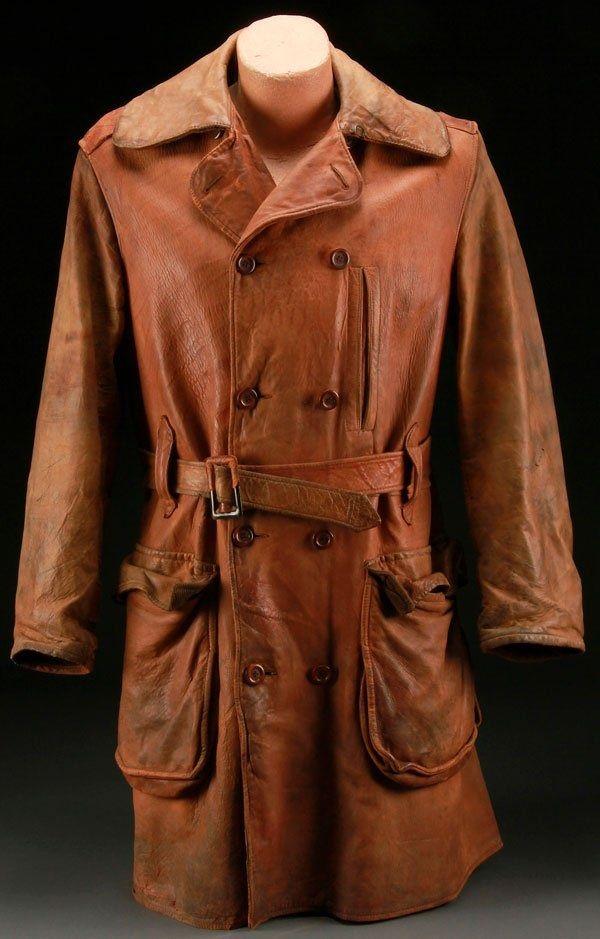 Beautiful WWI leather flight jacket, the perfect attire ...