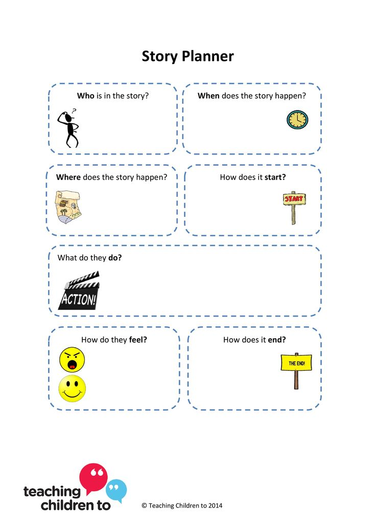 We love this story planner which we think will be really useful to support children with language or memory difficulties to plan written work. Use it as a whole sheet or cut out the individual components to help cue children in when supporting them in class.