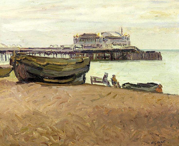 'Brighton Beach, Grey Day' by Duncan Grant