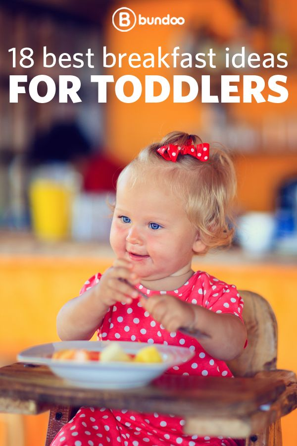 Don't let your toddler get bored with breakfast! Spice up the most important meal of the day with these breakfast ideas! #kids #babies #recipes
