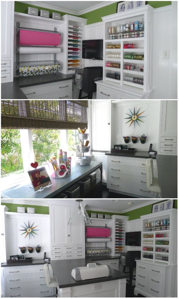 Home Tour Modern Cape Cod Style In 2019 Craft Room Storage
