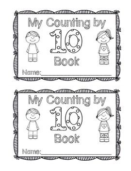 This book is a great way for your students to practice counting by tens! When students complete this book they will review the concept of counting in a ten frame and counting by 10s.