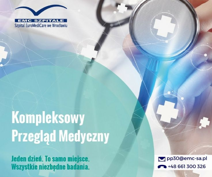 Jeden dzień, to samo miejsce, wszystkie niezbędne badania, czyli kompleksowy przegląd zdrowia w Szpitalu EuroMediCare we Wrocławiu. #emc #szpital #wroclaw #zdrowie #badania #emcszpitale