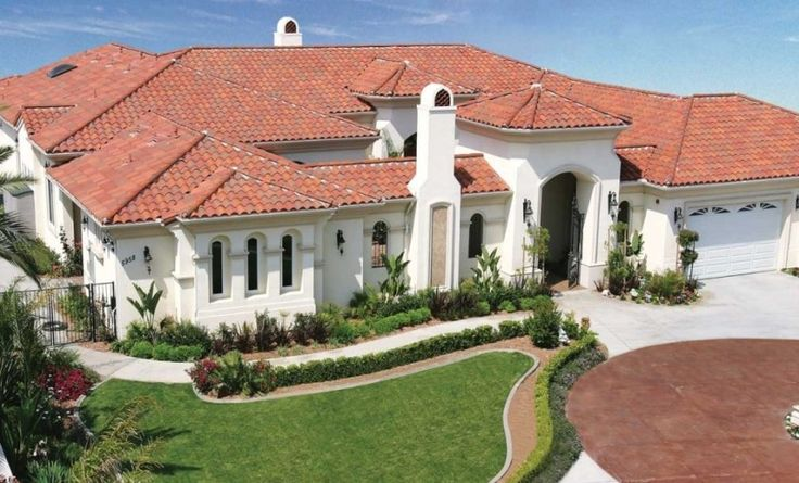 Concrete Vs Clay Roof Tile Cost Pros Cons Of Tile Roofs 2019 In 2020 Clay Roof Tiles Clay Roofs House Paint Exterior