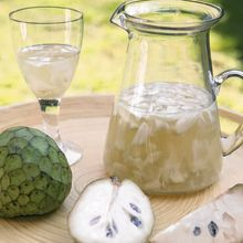 Blanco + Chirimoya: Clery, Ponche o Arreglado. Especial para servir como aperitivo de un buen asado. Dicen que un Sauvignon Blanc hará la pega, se macera la chirimoya picada (con o sin pepas al gusto del consumidor) con azúcar y luego de un buen rato se rellena con el vino blanco. Para hacerlo aún más refrescante, se puede moler con hielo para servir como frappé o caipirinha.