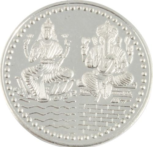 Silver Coin for Diwali