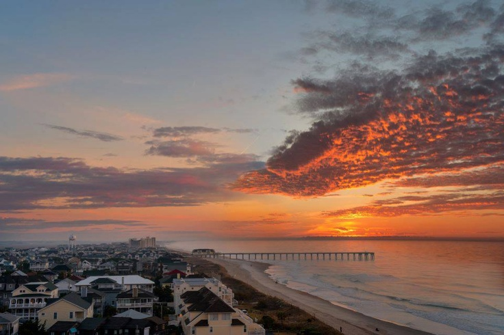 Good Day Sunshine Outer Banks Nc : Carolina beach sunrise kure the