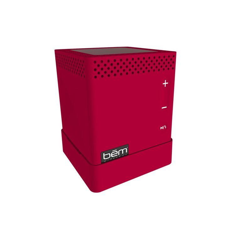 Bluetooth Mojo Speaker, Red