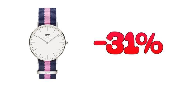 Oferta Reloj mujer Daniel Wellington con correa intercambiable con un 31% de descuento