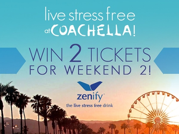Free tickets for coachella.. share to win
