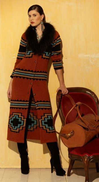 Brands :: Roja :: ROJA NAVAJO DESIGN FOX & KNIT DUSTER COAT! - Cowgirl Kim|Ladies Western Wear|Cowgirl Fashion|Double D Ranch|Unique High End Western Fashions|Turquoise Jewelry|Southwestern Jewelryhttp://www.cowgirlkim.com/store/cowgirl-brands/roja/roja-navajo-design-fox-and-knit-duster-coat.html