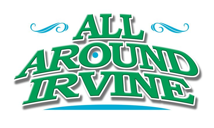 Alan Kindred Design was hired to design a logo for an Irvine, CA video production, All Around Irvine™.