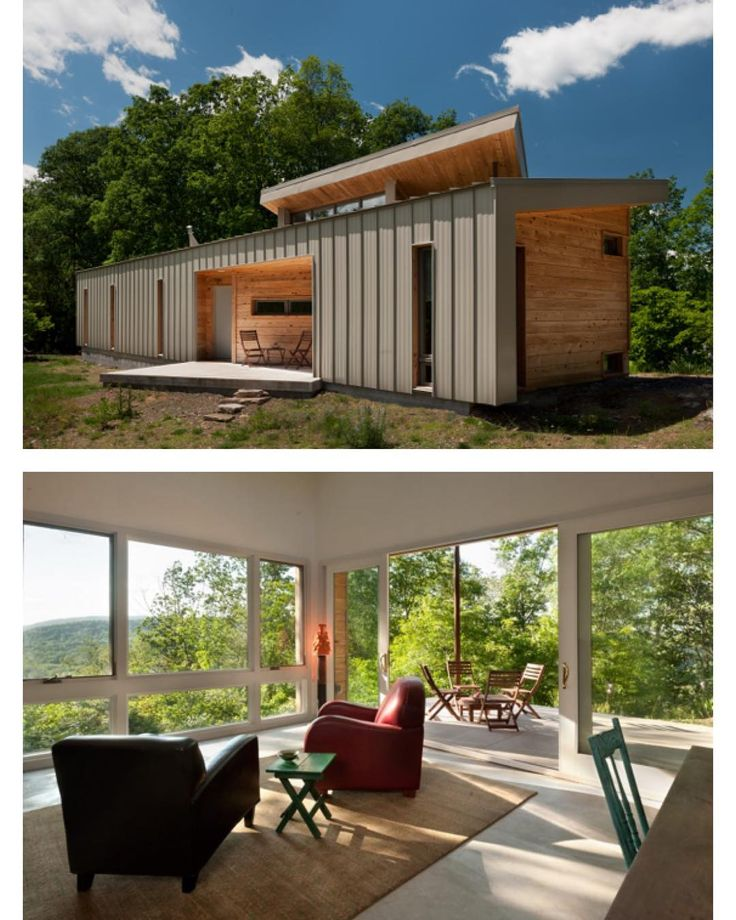 "704 Me gusta, 4 comentarios - Tiny House Magazine (@tinyhousemag) en Instagram: ""West #Virginia Home by GriD Architects 