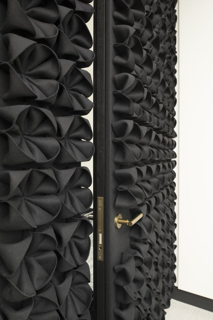DANI Wool felt decorative acoustical panels by Anne Kyyrö Quinn design Anne Kyyrö Quinn