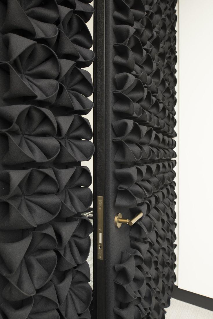 DANI Dekorative Akustikplatten aus Wollfilz by Anne Kyyrö Quinn Design Anne Kyyrö Quinn