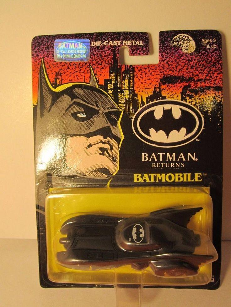 ERTL BATMAN RETURNS BATMOBILE DIE CAST METAL 1992 SEALED ...
