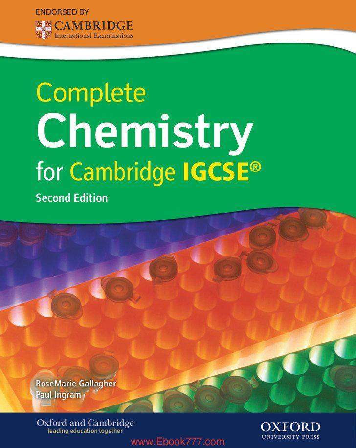 Pin By Iduru On Chemisry Cambridge Igcse Chemistry Book Pdf Cambridge