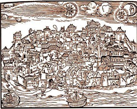 1. Takvim yaprakları 22 Ağustos 1509'u gösterdiğinde İstanbul kıyamet gibi bir güne uyanır.