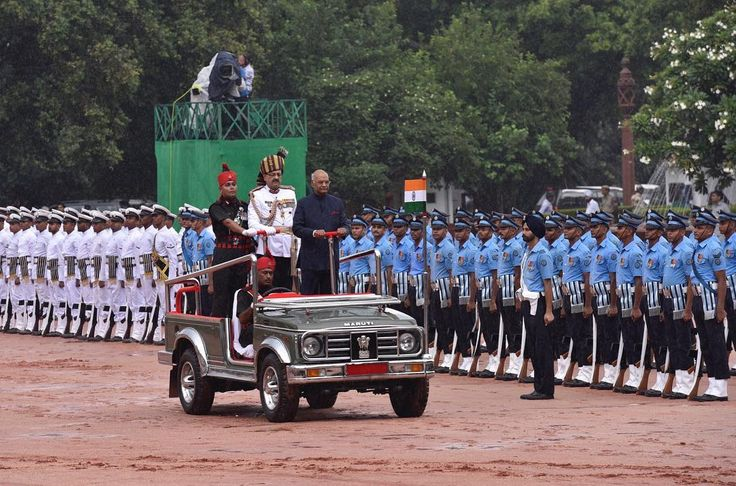 Indian President Ram Nath Kovind inspects a guard of honor at the Presidential Palace after being sworn in, on July 25 in New Delhi, India.  Kovind, a relatively unknown political operator and member of India's lowest Dalit caste was elected as the country's 14th president. Kovind is the second Dalit to become Indian president, after K. R. Narayanan, in office from 1997 to 2002. Dalits, who are often referred to as untouchables, occupy the lowest rung on India's caste system. Traditionally…