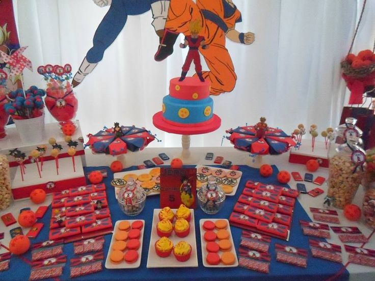 Dragon Ball Party Decorations 135 Best Dragon Ball Party Images On Pinterest  Dragons