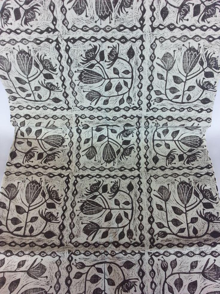 Maradadhi Protea Block Cut — Maradadhi Textiles