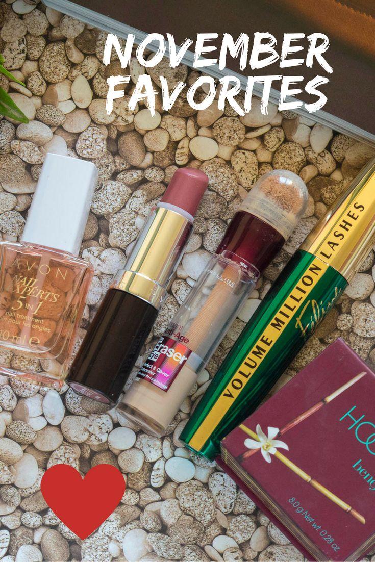 November Make-up & Beauty Favorites