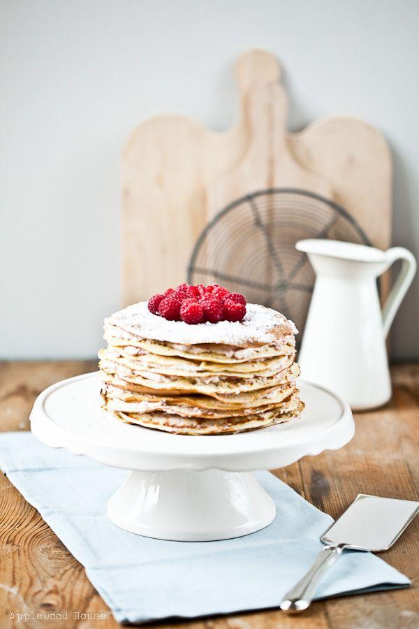 Applewood House - Good food and all things fine: Eine Geburtstagstorte für die Katze ♥ Eine Pfannkuchentorte frei nach Petterson & Findus