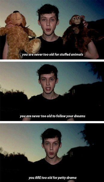 I feel like Troye and I would really get along