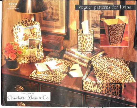 Vogue Sewing Pattern 1779 Uncut Waste Paper By SammyJoPatterns