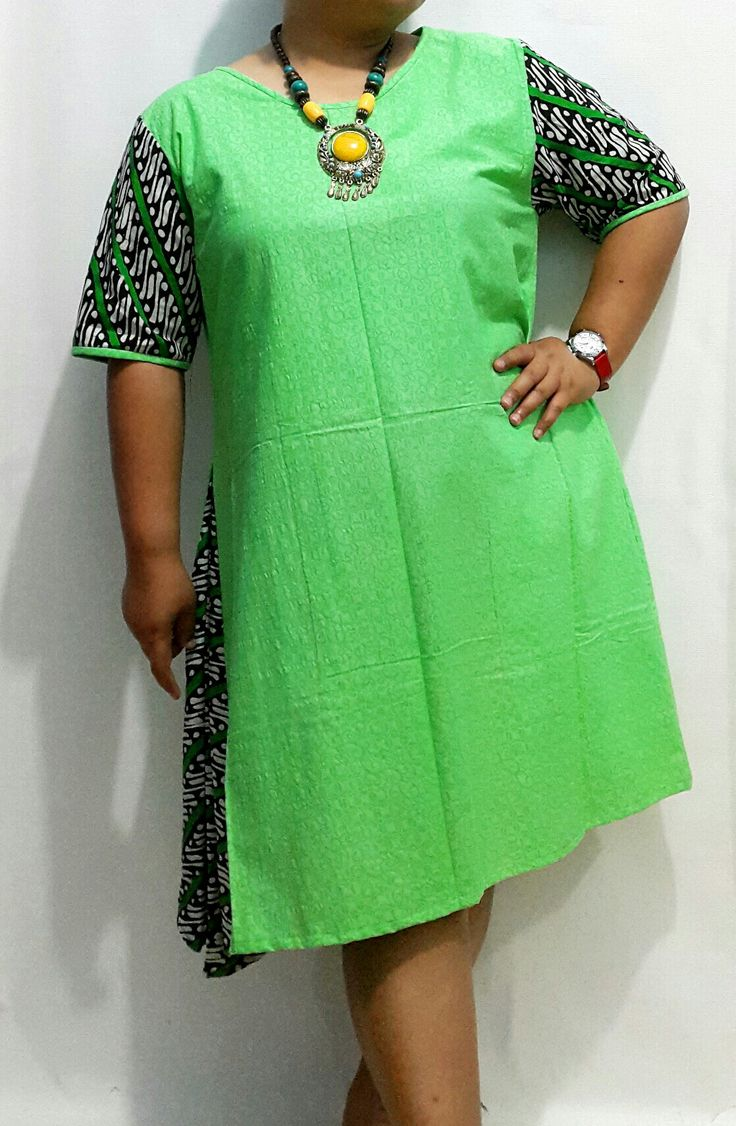 Dress batik bigsize