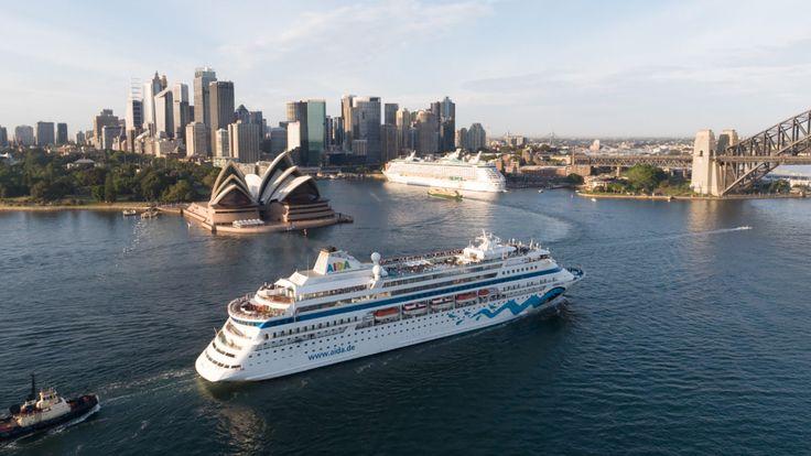 Reise-News der Woche - AIDA Kreuzfahrtschiff erstmals in Australien