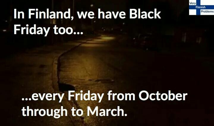 Black Friday Finland