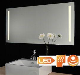 349,- Belgische leverancier  Design badkamer spiegel met warm witte LED verlichting