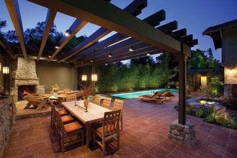 42 Best Images About Pool Decks And Patios On Pinterest Backyard Retreat Pools And Covered Patios
