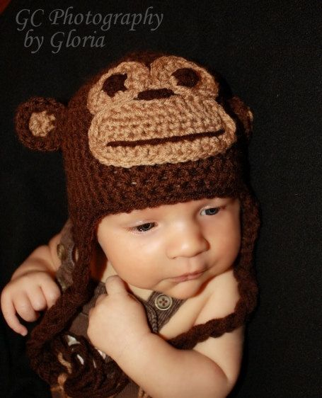 Crochet Monkey Hat Patterns Free Free Crochet Pattern For Newborn