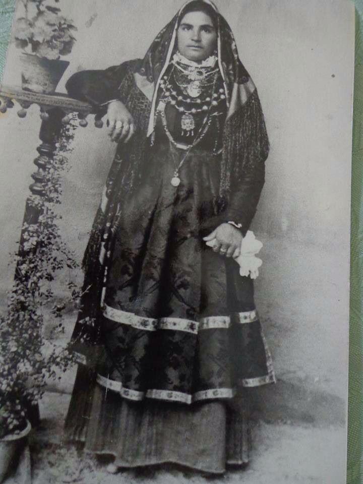 Selargius abito tradizionale