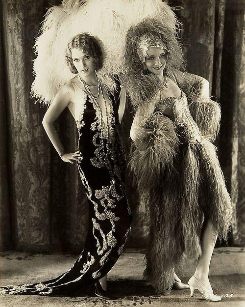 Adrienne Dore (Goldwyn Girl) & Virginia Bruce, Ziegfeld Follies Girl, 1929.