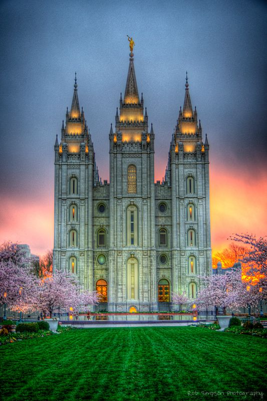 Salt Lake Temple - Salt Lake City - Utah - USA