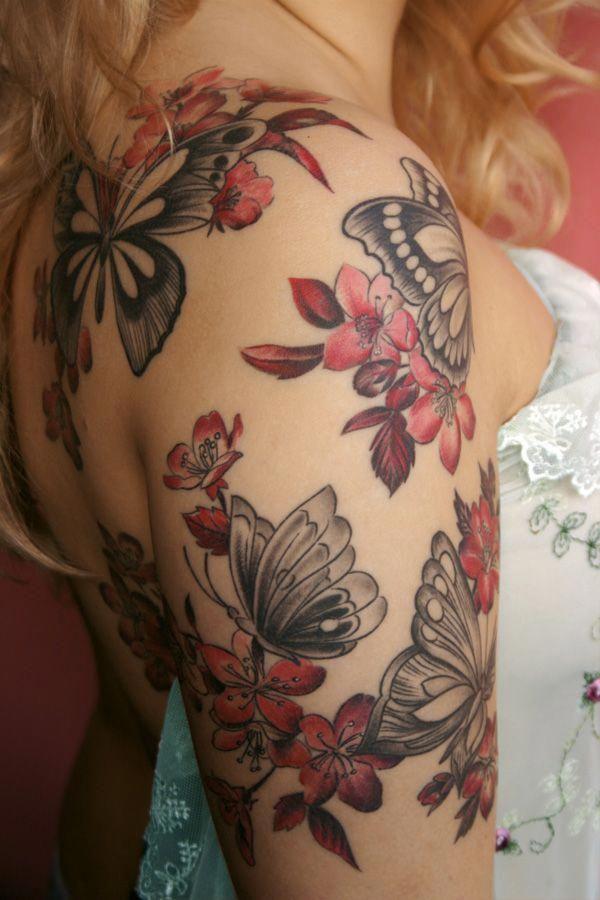 halbe Ärmel Tattoo Designs Unterarm #Halfsleevetattoos