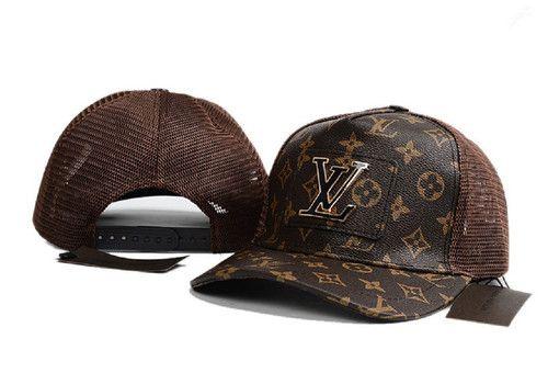 LOUIS VUITTON Cool Classics Adjustable LV Hat For Unisex  6f2e86333369