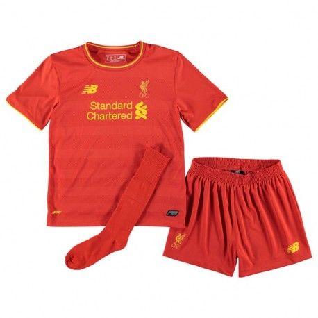 Maillot Liverpool Enfant 2016-2017 Domicile