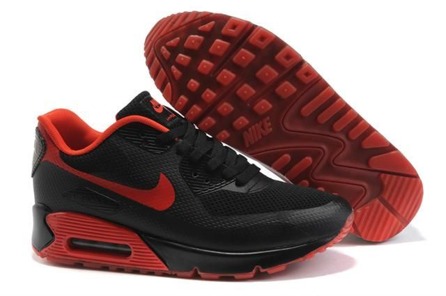 http://www.griffeyshoes.com/nike-air-max-90-hyperfuse-black-red-p-282.html NIKE AIR MAX 90 HYPERFUSE BLACK RED Only $70.40 , Free Shipping!