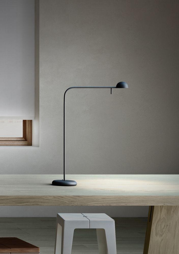 iwasaki design of clean desk & lamp.