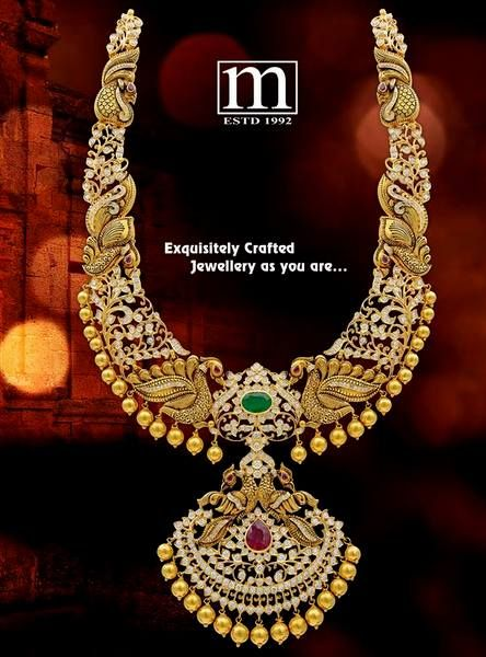 Exclusive Haram by Sri Mahalaxmi Jewellers | Jewellery Designs