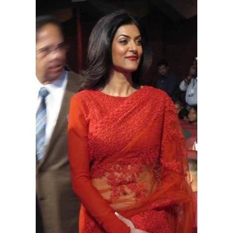 Sushmita Sen Bollywood Saree Replica