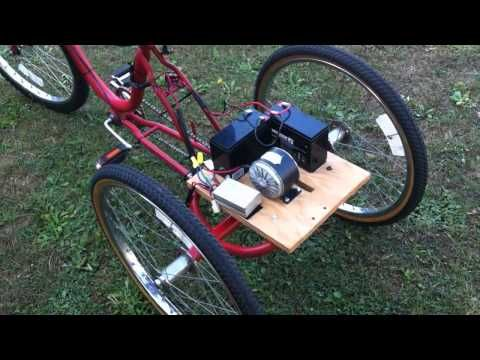 DIY Pedal Generator for Electric Bike or Trike - YouTube