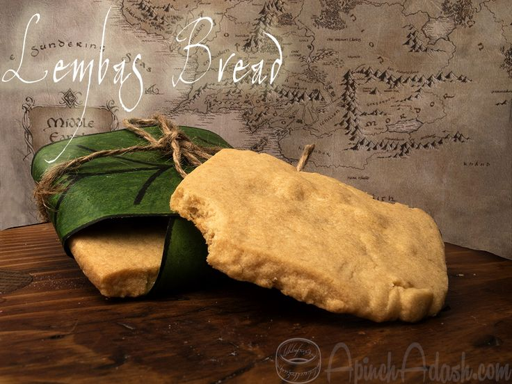 Lembas Bread recipe from Lord of the Rings. #thehobbit #lotr