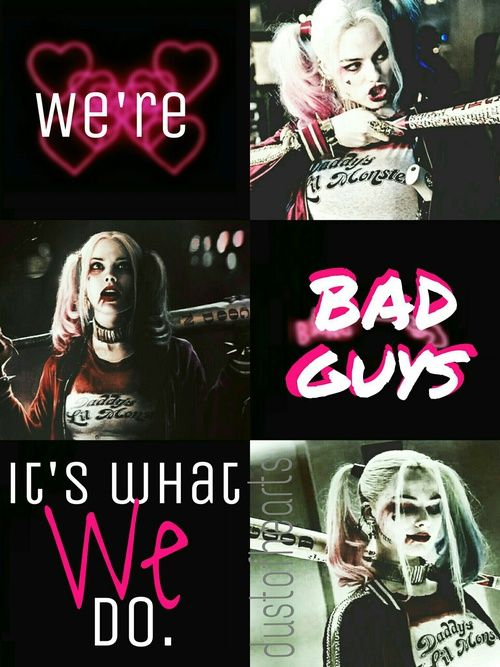 Imagen de bad, Collage, and harley quinn
