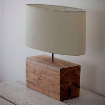 Could be made from pallet wood (Lampara madera)